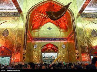 حرم حضرت ابوالفضل(ع) در آستانه اربعین حسینی